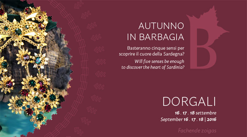 Autunno in Barbagia 2016 Dorgali