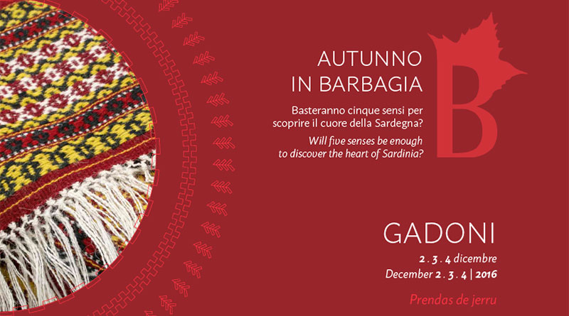 Autunno in Barbagia 2016 Gadoni