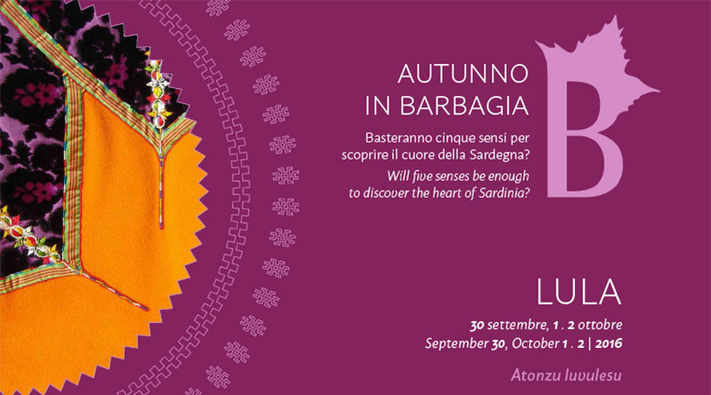 Autunno in Barbagia 2016 Lula