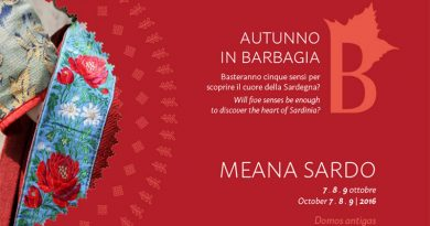 Autunno in Barbagia 2016 Meana Sardo