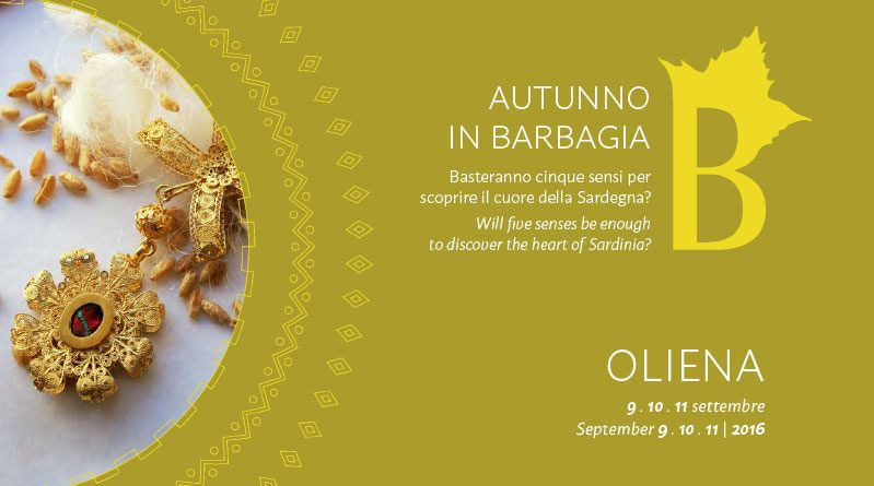 Autunno in Barbagia 2016 Oliena