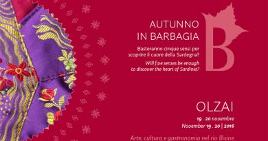 Autunno in Barbagia 2016 Olzai