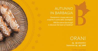 Autunno in Barbagia 2016 Orani