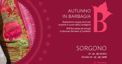 Autunno in Barbagia 2016 Sorgono