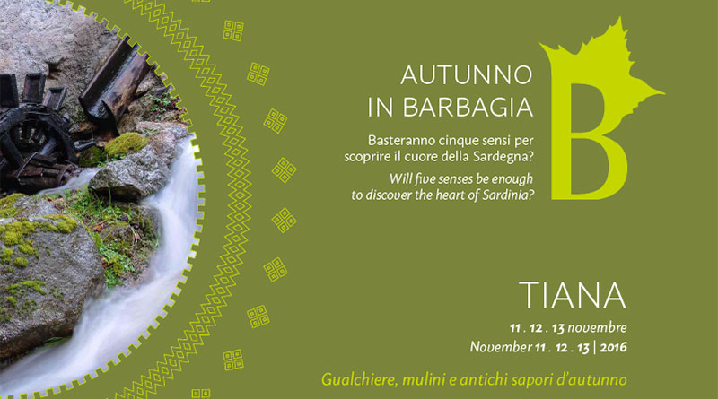 Autunno in Barbagia 2016 Tiana