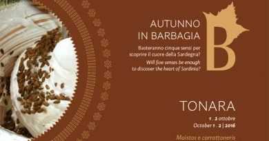 Autunno in Barbagia 2016 Tonara