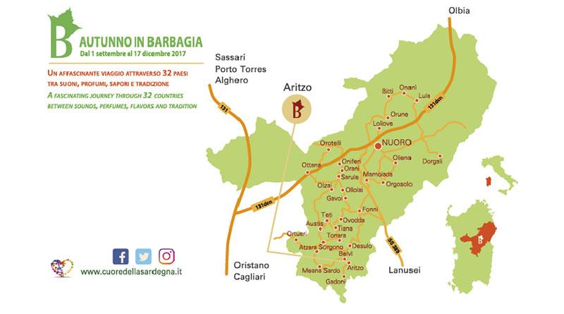 Autunno in Barbagia 2017 Aritzo