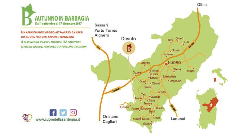 Autunno in Barbagia 2017 Desulo