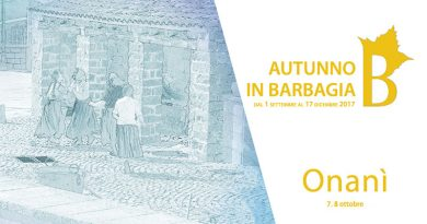 Autunno in Barbagia 2017 Onanì