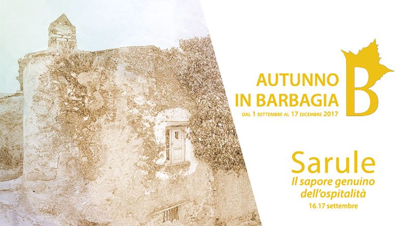 Autunno in Barbagia 2017 Sarule