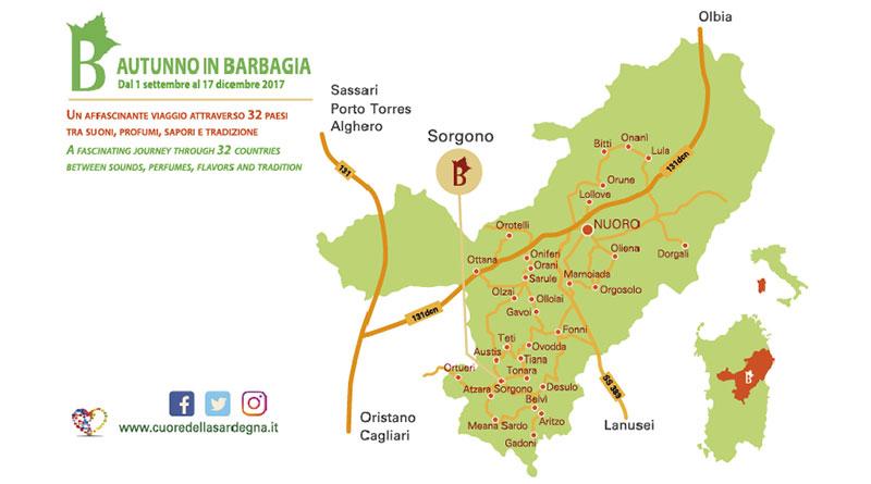Autunno in Barbagia 2017 Sorgono