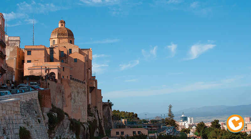 Cagliari, le antiche mura del quartiere Castello. - Foto Luca Careddu