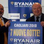 Cagliari, nuovi voli low cost Ryanair 2018