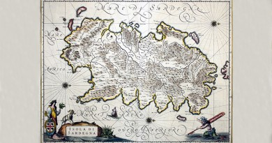 L'origine del nome Sardegna