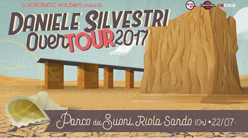 Daniele Silvestri in concerto a Riola Sardo
