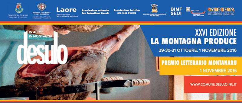 Desulo La Montagna Produce 2016