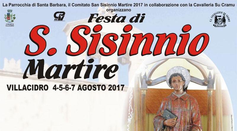 Festa di San Sisinnio Martire 2017
