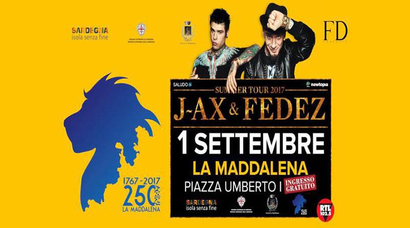 J-Ax & Fedez in concerto a La Maddalena