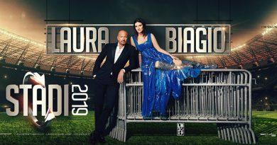 Laura Pausini e Biagio Antonacci in concerto a Cagliari
