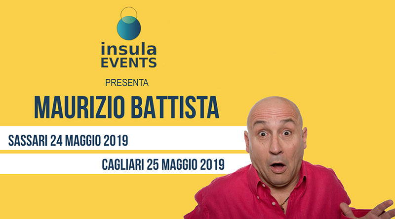 Maurizio Battista a Cagliari e Sassari
