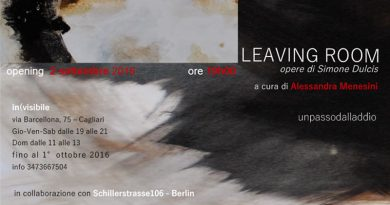 Mostra Leaving Room di Simone Dulcis