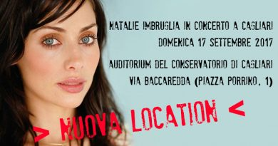 Natalie Imbruglia in concerto a Cagliari