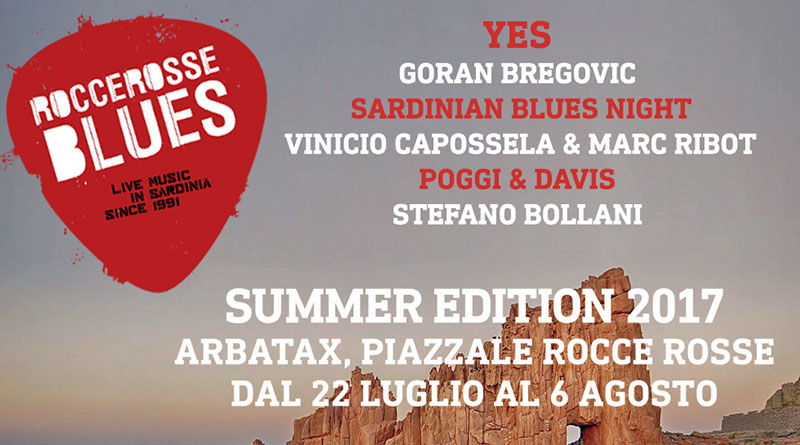 Rocce Rosse Blues 2017