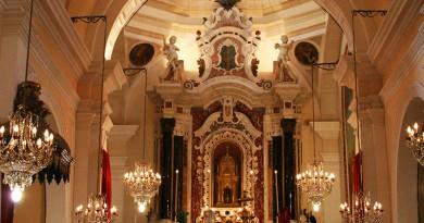 La Festa di Sant'Efisio a Cagliari, la chiesa