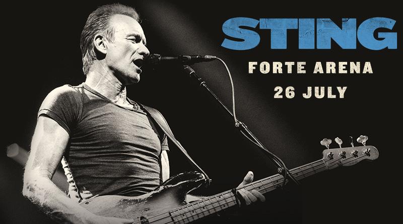 Sting in concerto Forte Arena 2018 Pula