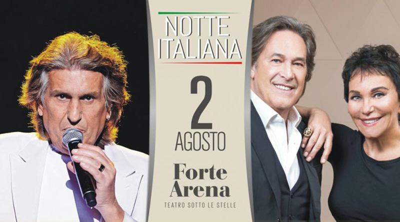 Toto Cutugno e i Ricchi e Poveri in concerto a Cagliari