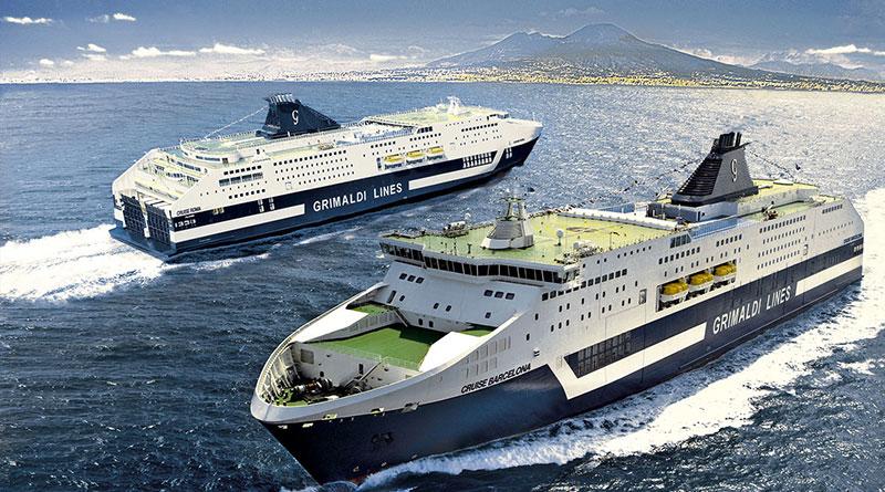 Grimaldi Lines nuova linea per la Sardegna Livorno Olbia
